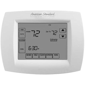 American Standard Heating & Air Conditioning Low Voltage Non-Programmable Thermostat 461470
