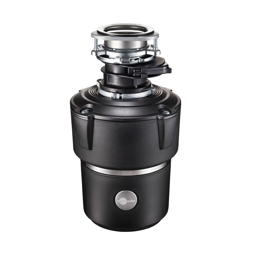 Insinkerator Evolution Pro Cover Control Garbage Disposal With Batch Feed, 7/8 HP 1660719