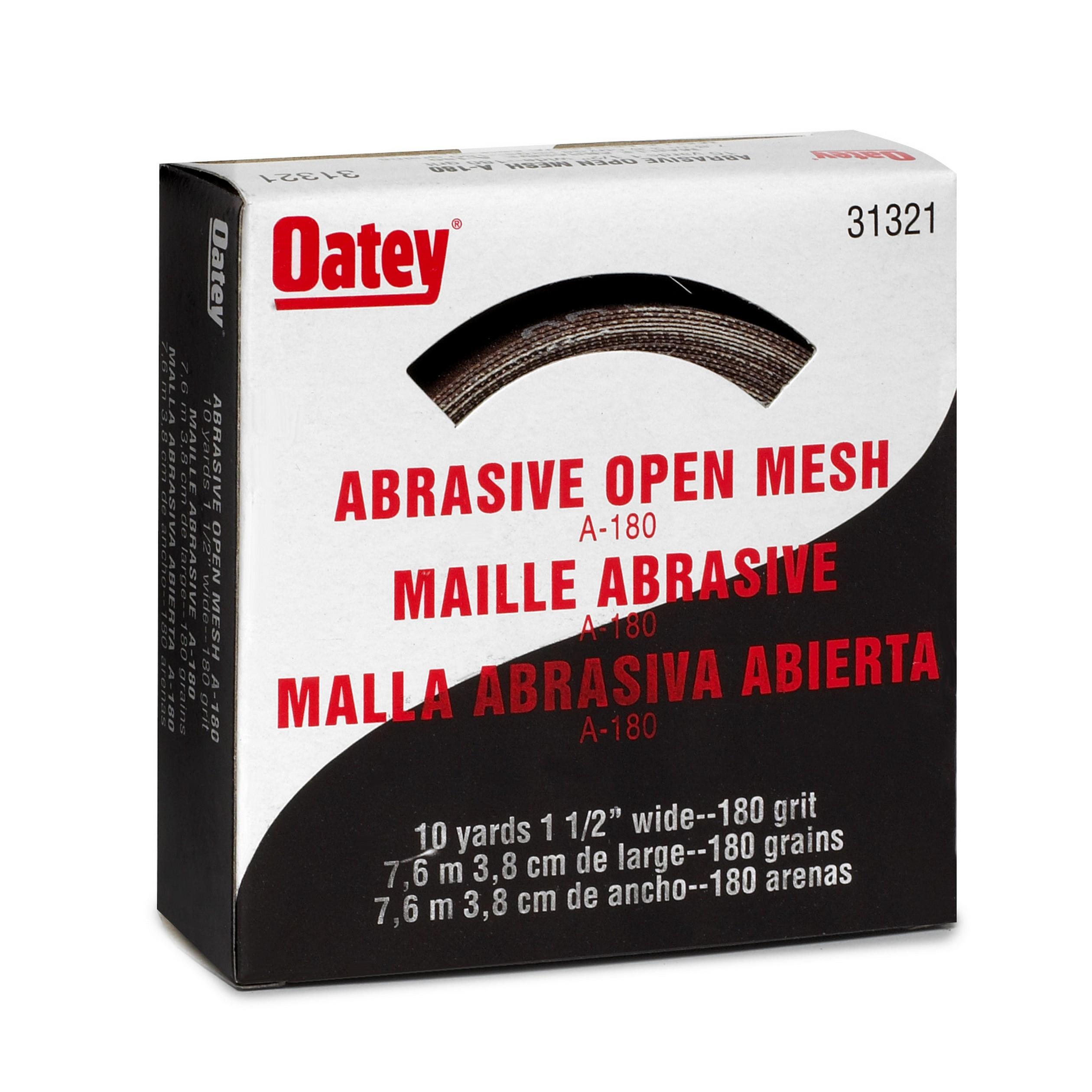 Oatey Abraisive Cloth 180 Grit1815203