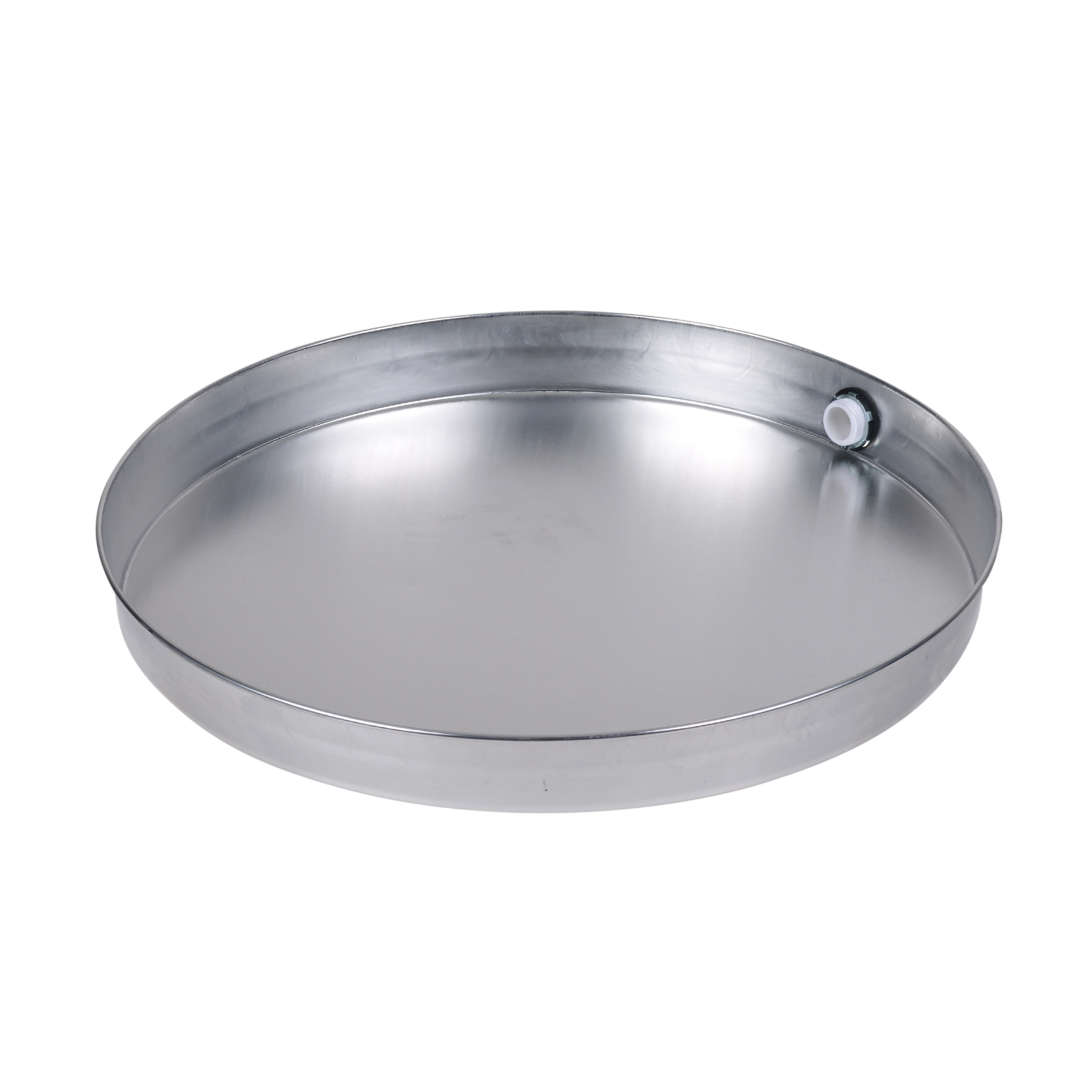 Oatey 22 In. Aluminum Water Heater Pan With 1 In. Adapter 52393