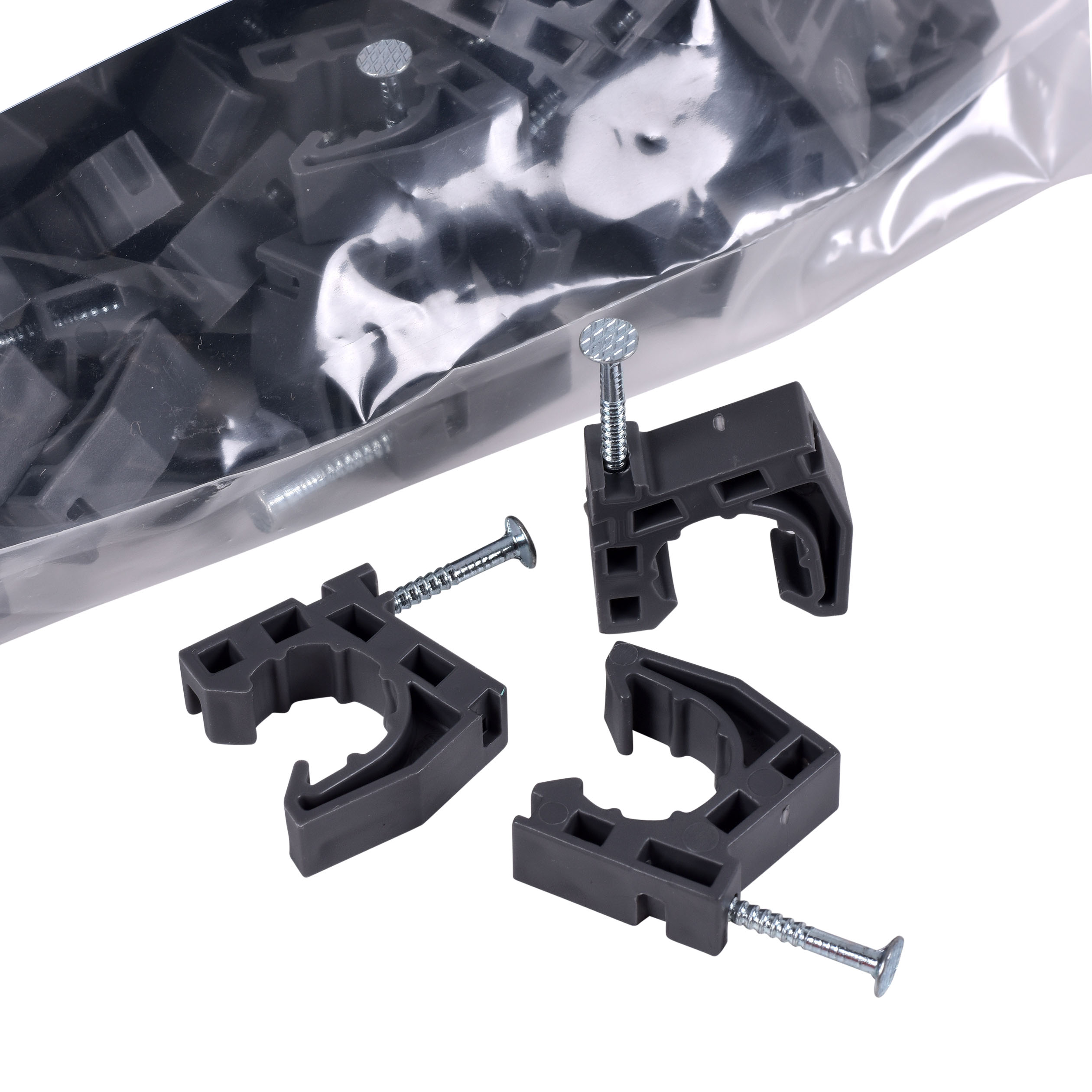 """Oatey ½"""" Standoff Pipe Clamp (100 in polybag) 1523185"""