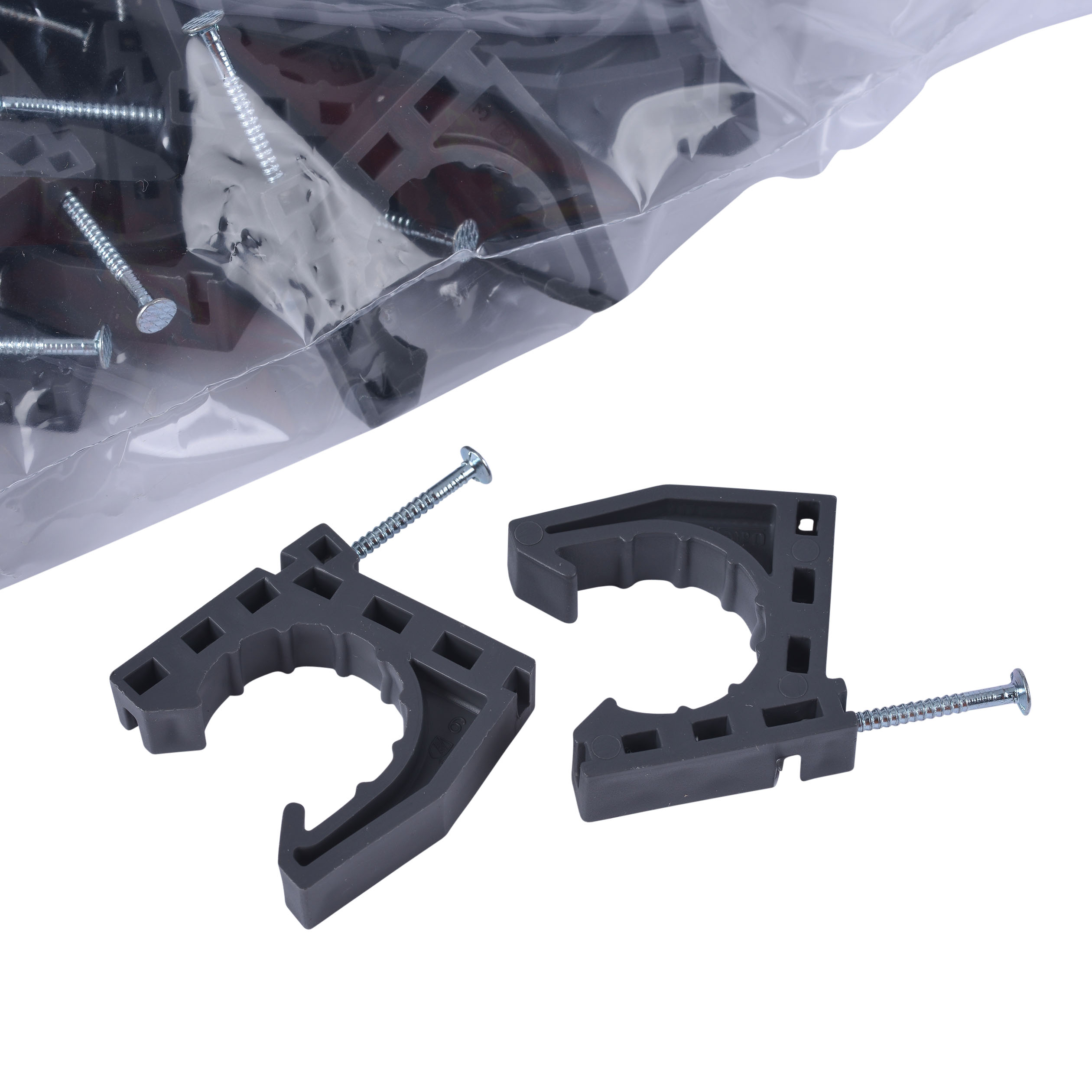 """Oatey 1"""" Standoff Pipe Clamp (50 in polybag) 1523190"""