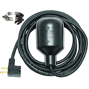 Victory Pumps Tethered, Pump Float Switch With Piggyback Plug 1169677