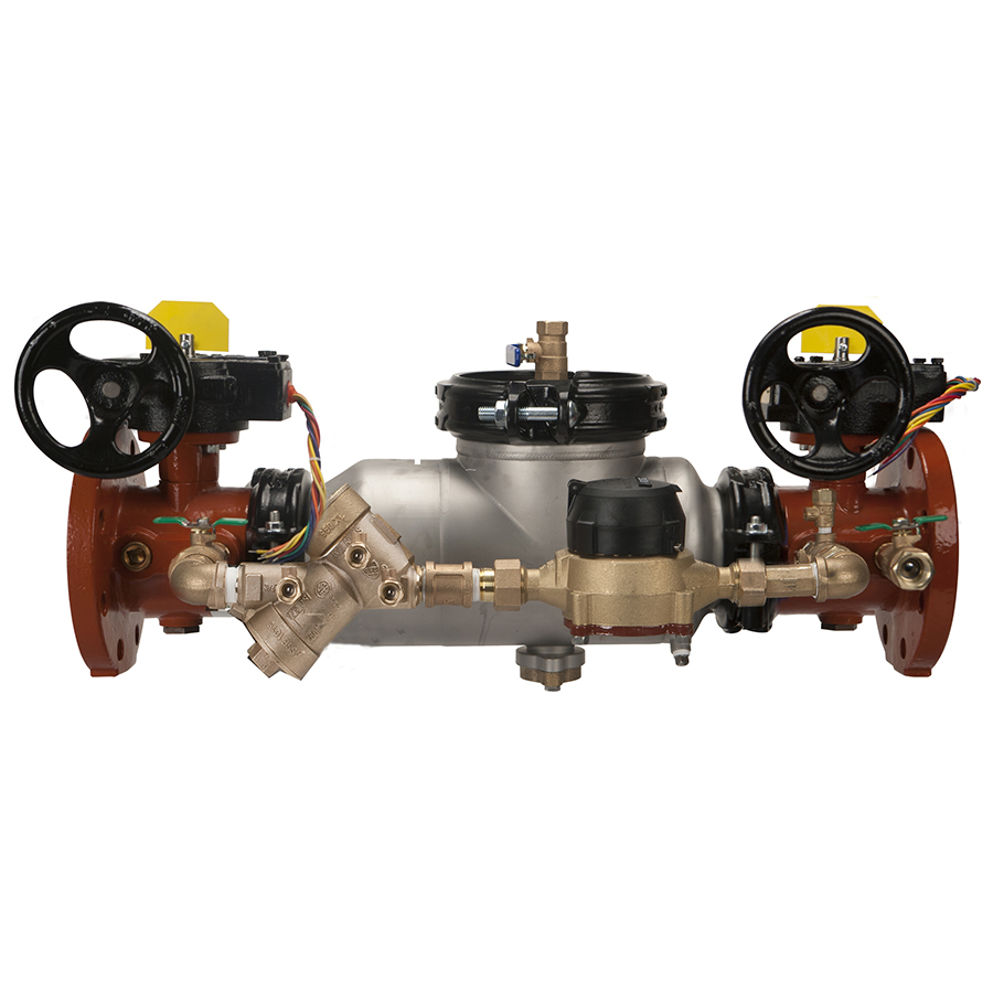 "4"" 350astda Double Check Detector Backflow Preventer"