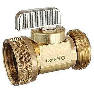 """Dahl 1/2"""" Brass Boiler Drain Valve 1672484"""