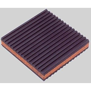 "Diversitech  4"" x 4"" x 7/8"" Rubber Anti-Vibration Pad 559971"