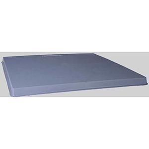 "Diversitech  32"" x 32"" x 2"" Gray Plastic Condenser Pad 36076"