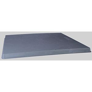 "Diversitech  38"" x 48"" x 3"" Gray Plastic Condenser Pad 36078"