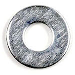 "Standard Washer (100 Per Box) 1/2"", Zinc Plated, Flat, Round"