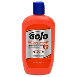 Gojo 14 Fluid Oz Orange hand Cleaner 39826