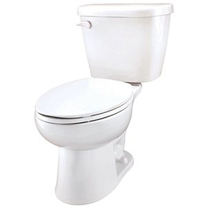 """28-1/8"""" X 17-1/2"""" X 29"""", 12"""" Rough-in, 15"""" Bowl Height, 1.28 GPF, Color Matched Front Tank Lever, White, Vitreous China, Floor Mount, 2-piece, Elongated Bowl, Toilet"""
