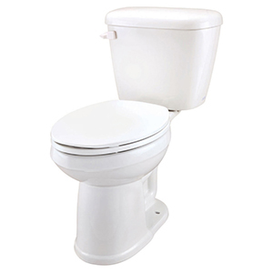 "17-1/4"" X 8-7/8"", 12"" Rough-in, 1.6 GPF, White, Vitreous China, Color Matched Front Mounted Trip Lever, Toilet Tank"