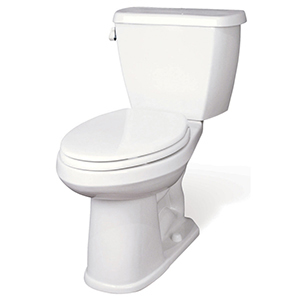 "16-1/2"" H, 12"" Rough-in, 1.6 GPF, White, Vitreous China, Floor Mount, Elongated, Bowl For Avalanche/ergoheight Toilet"