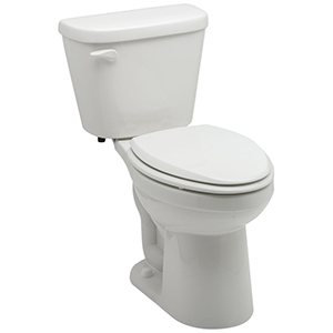 "16-3/8"" H, 12"" Rough-in, 1.28 GPF, Biscuit, Vitreous China, Floor Mount, Elongated Front, Bowl For Maxwell High Efficiency Toilet"