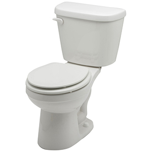 "14-7/8"" H, 10"" Rough-in, 1.28 GPF, White, Vitreous China, Floor Mount, Round Front, Bowl For Maxwell High Efficiency Toilet"