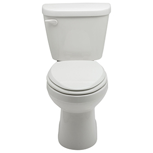 "14-7/8"" H, 14"" Rough-in, 1.28 GPF, White, Vitreous China, Floor Mount, Elongated, Bowl For Maxwell High Efficiency Toilet"