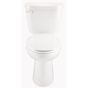 "16-3/8"" X 6-3/4"", 10"" Rough-in, 1.6 GPF, White, Vitreous China, Color Matched Trip Lever, Toilet Tank"
