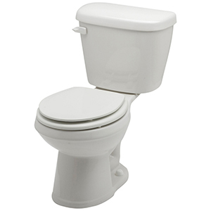 "14-3/4"" H, 12"" Rough-in, 1.28 GPF, White, Vitreous China, Floor Mount, Round Front, Bowl For Maxwell High Efficiency Toilet"