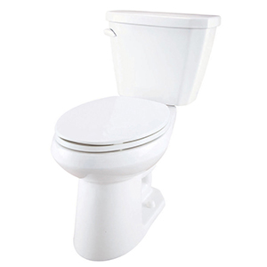 "16-7/8"" H, 12"" Rough-in, 1.6 GPF, White, Vitreous China, Floor Mount, Elongated, Bowl For Viper High Efficiency Toilet"