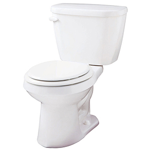 "15"" H, 12"" Rough-in, 1.6 GPF, White, Vitreous China, Floor Mount, Round Front, Bowl For Viper High Efficiency Toilet"