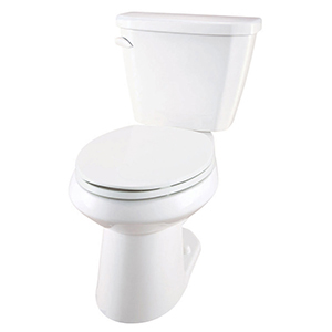 "15-1/4"" H, 12"" Rough-in, 1.6 GPF, White, Vitreous China, Floor Mount, Elongated, Bowl For Viper Toilet"