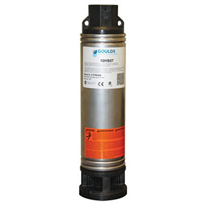 """1-1/4"""" Discharge, 230 VAC 60 Hz 1-phase, 1/2 HP, 3450 RPM, 7 GPM , Lead-free, Aisi 304 Stainless Steel Case, 2-wire, 10-stage, Submersible Pump"""