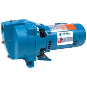 "1-1/4"" X 1"", NPT X NPT, 115/230 VAC 60 Hz 1-phase, 1/2 HP, 3500 RPM, 17.5 GPM , Cast Iron Case, Convertible, Compact, Jet Pump"