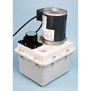 "1-1/2"" X 1"", FPT X FPT, 115 V, 5 A, 1/4 HP, 44 GPM , 1725 RPM, 2 Gallon, Structural Foam Polypropylene Housing, Laundry Pump"