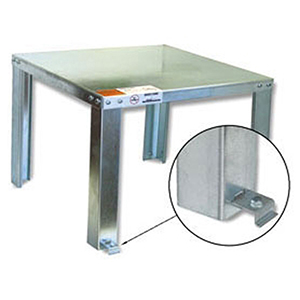"""Holdrite 22"""" x 22"""" x 16"""" 650lb Water Heater Stand 1589766"""