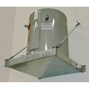 """Holdrite 21 1/4"""" x 21 1/4"""" x 2 1/2"""" 375lb Wall Mount Water Heater Stand 1914205"""