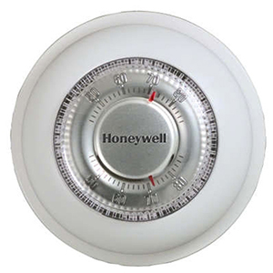 Honeywell T87K Round Non-Programmable, Heat Only, Mechanical Thermostat 40516