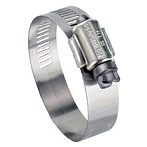 """Ideal-tridon 11/16"""" To 1 ½"""" Diameter 200 Stainless Steel 1 screw Worm Gear Drive Hose Clamp 20725"""