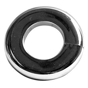 """JB Products Flange 1/2"""" IPS, Chrome Plated, Steel, Shallow, Sure Grip 4446"""