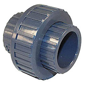 """2"""" Solvent CWP Schedule 80 UPVC Straight Union"""