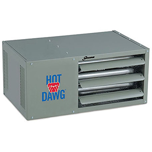 HD125 Hot Dawg Natural Gas Power Vented Heater (125,000 BTU)