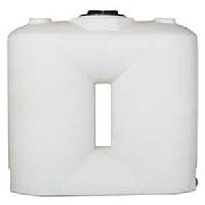 Norwesco 400 Gallon White Freestanding Doorway Tank 1992625