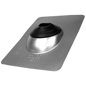 """Oatey NC-2 In. Galvanized 9"""" x 12.5"""" Roof Flashing 41161"""