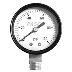 "Pasco Specialty 2½"" 100lb Pressure Gauge 3230"