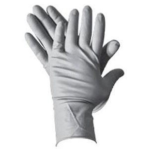 Disposable Gloves (50 Per Box) Large, 15 Mil Thick, Blue, Powder-Free Latex