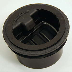 """2"""", Hdpe, 1-piece, Waterless, In-line, Trap Seal For Floor Drain/shower Drain"""