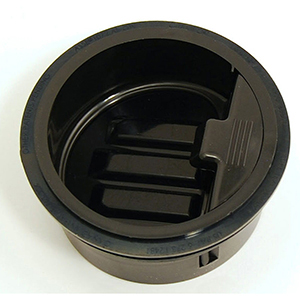 """3"""", Hdpe, 1-piece, Waterless, In-line, Trap Seal For Floor Drain/shower Drain"""