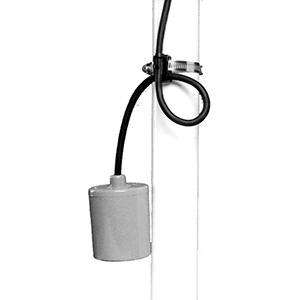 SJE Rhombus 120V Float Switch 139326