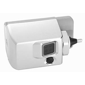 Exposed Sensor Urinal/Water Closet Flushometer, Chrome Plated, Battery Powered, Sensor Activated, Side Mount Operator For Single Flush