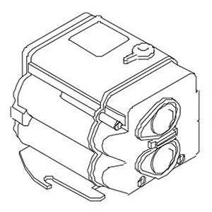 Water Closet Flushometer Electronic Module For Solis Single Flush