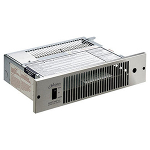6070 To 12180 Btu/hr At 5 Gpm, 120 Vac 60 Hz 1-phase, 125 Cfm, Copper/brown Painted, High Grade Zinc Coated Steel, Floor Mount, Residential/commercial, Kickspace Heater