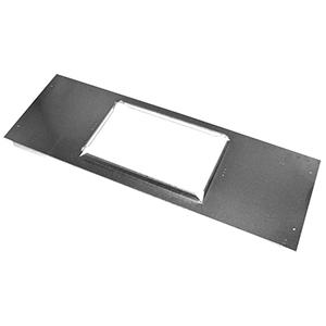 "4"" X 10"", Hot Dip Galvanized Steel, Sheet Metal Plaster Frame"