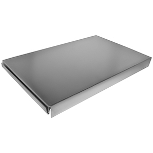 """3-1/4"""" X 14"""", Hot Dip Galvanized Steel, Sheet Metal Duct End Boot"""