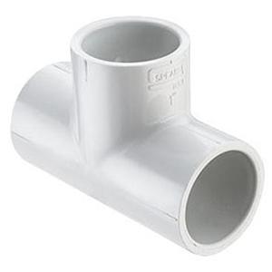 "1 ½"" Socket Straight Schedule 40 PVC Tee"