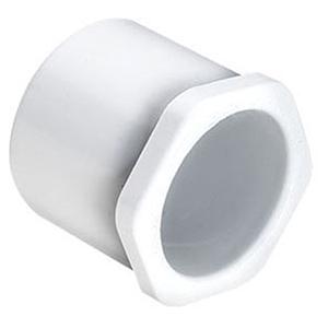 "1 ½"" x 1"" Spigot x Socket Reducing Schedule 40 PVC Bushing"