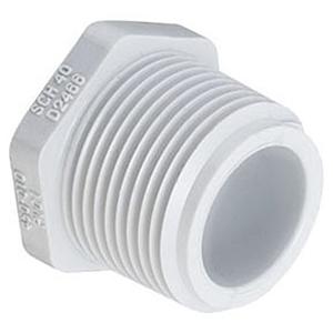 "¾"" MIPT Straight Schedule 40 PVC Plug"
